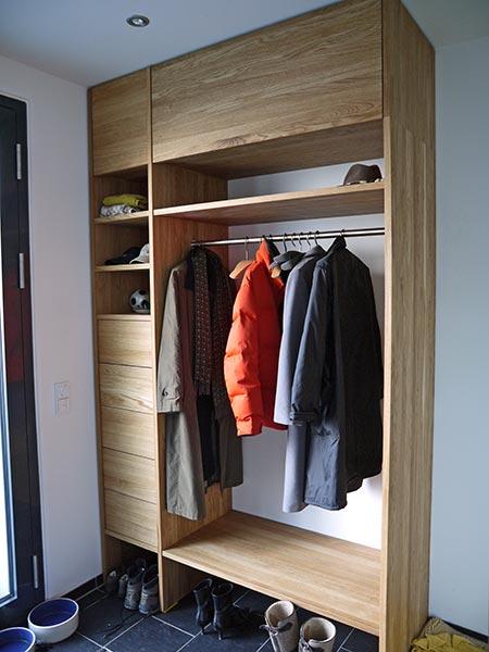 Garderoben heruday innenausbau for Garderobe individuell